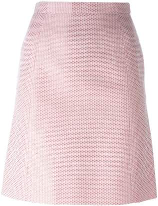 Chanel Pre-Owned patterned skirt
