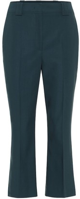 Salvatore Ferragamo Slim-leg wool pants
