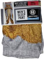 Briefly Stated Riding On A Teddy Bears Shoulders Gray Sleep Lounge Pants - 2XL