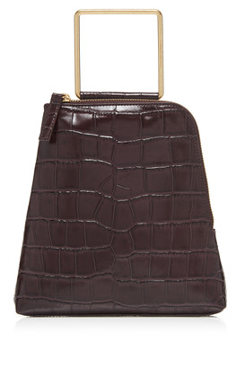 Marge Sherwood Breeze Croc-Effect Leather Top Handle Bag