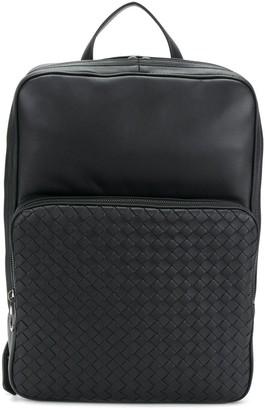 Bottega Veneta intrecciato weave panel backpack