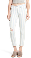 Articles of Society Carly Stripe Crop Jeans (Doyle)
