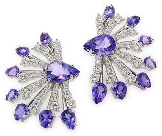Hueb Mirage Diamond & Tanzanite Earrings