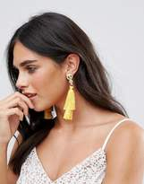Johnny Loves Rosie Double Tassel Drop Earrings