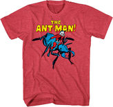 Novelty T-Shirts Marvel Classic Ant-Man Graphic Tee