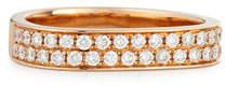 Anita Ko 18K Rose Gold Pavé Diamond Band Ring