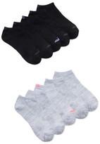 Avia Women's Performance Flat Knit Ankle Socks, 10-Pack