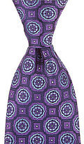 Daniel Cremieux Rolling Medallion Traditional Silk Tie