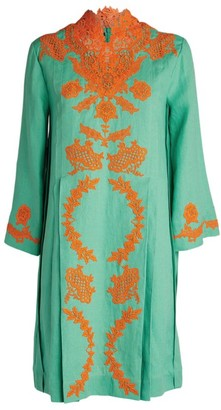 Gucci Embroidered Kaftan
