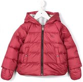 Burberry hooded padded jacket - kids - Cotton/Feather Down/Polyester - 12 mth