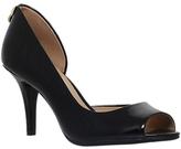 MICHAEL Michael Kors Hamilton Peep Toe Asymmetric Sandals