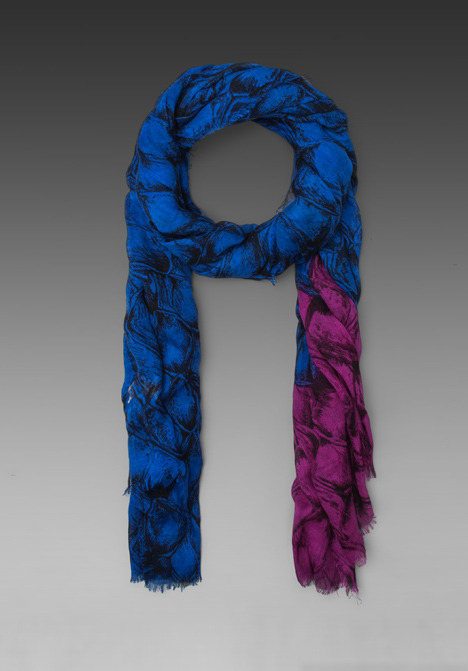 Diane von Furstenberg Hanovar Silk Wool Scarf