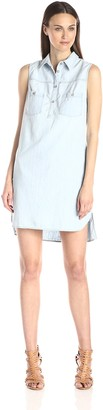 AG Jeans Women's Aurelia Chambray Dress