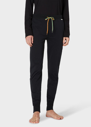 Paul Smith Men's Black Jersey Cotton Lounge Pants