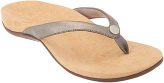 Vionic Thong Sandals w/ Button - Mona