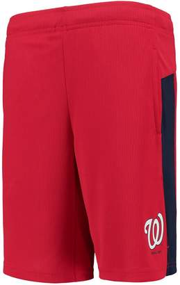Outerstuff Youth Red Washington Nationals Grand Slam Shorts