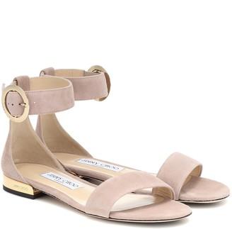 Jimmy Choo Jaimie suede sandals