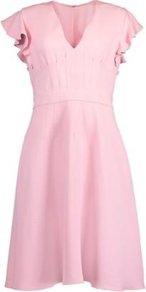 Giambattista Valli Cap Flutter Sleeve Dress