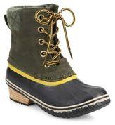 Sorel Slimpack II Lace Waterproof Leather Duck Boots