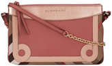 Burberry House Check clutch bag - women - Cotton/Calf Leather/Polyamide - One Size