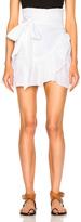 Etoile Isabel Marant Dempster Chic Linen Skirt