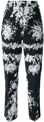 Ingie Paris Floral Tailored Trousers