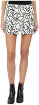 Neil Barrett Pop Art Jacquard Skirt