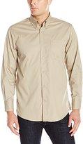 Cutter & Buck Men's Long-Sleeve Carter Stain Resistant Twill Shirt