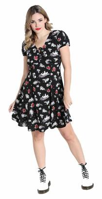 Hell Bunny Women Star Catcher Rainbow Unicorn Mini Dress - 22