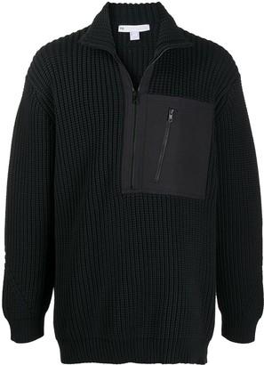Y-3 Half-Zip Knitted Jumper