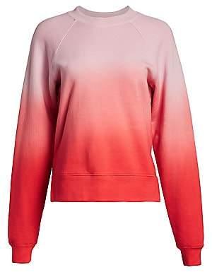 Proenza Schouler White Label Women's Shrunken Ombré Sweatshirt