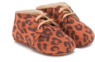 Gallucci Kids Leopard Print Boots