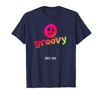 Hippie Peace Sign Groovy Since 1969 50th Birthday Gift Shirt