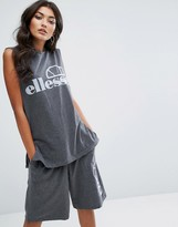 Ellesse Sleeveless T-Shirt With Logo Co-Ord