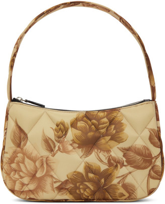 Kwaidan Editions Beige Padded Quilted Lady Bag