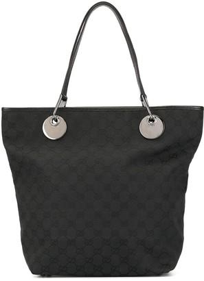 GG pattern shoulder tote bag
