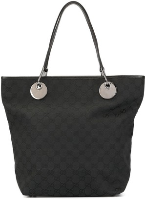 Gucci Pre Owned GG pattern shoulder tote bag
