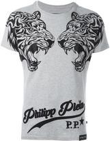 Philipp Plein 'Double Tiger' T-shirt