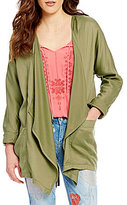 Jessica Simpson Finn Embroidered Anorak Jacket