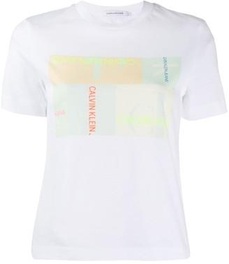 Calvin Klein Jeans graphic-print T-shirt