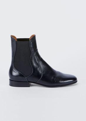 Chloé Laurelynn Pull-On Ankle Booties
