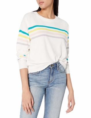 Jack by BB Dakota Women's Like A Rainbow Multi Stripe Sweater