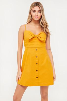 Ardene Button-Up Mini Dress