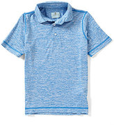 Class Club Big Boys 8-20 Marled Polo Shirt