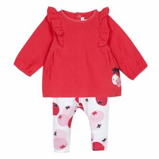 Catimini Baby Girls' Cq36031 Ensemble Long Clothing Set