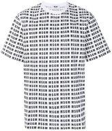 MSGM T-shirt Multi Logo