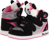 Skechers Sugercanes - Lil Cuddler 80689N (Toddler) (Black/Pink) - Footwear