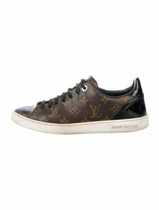 Louis Vuitton Frontrow Monogram Sneakers Brown