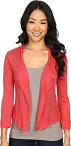 Nic+Zoe Women's Double Trim Cardy