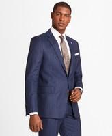 Brooks Brothers Regent Fit Double Stripe Flannel 1818 Suit
